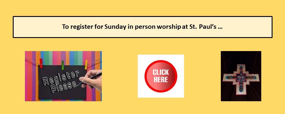 worship registration slider